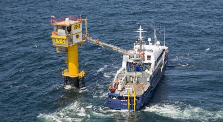 Rewolucyjna platforma wydobywcza rozpoczęła prace na Morzu Północnym