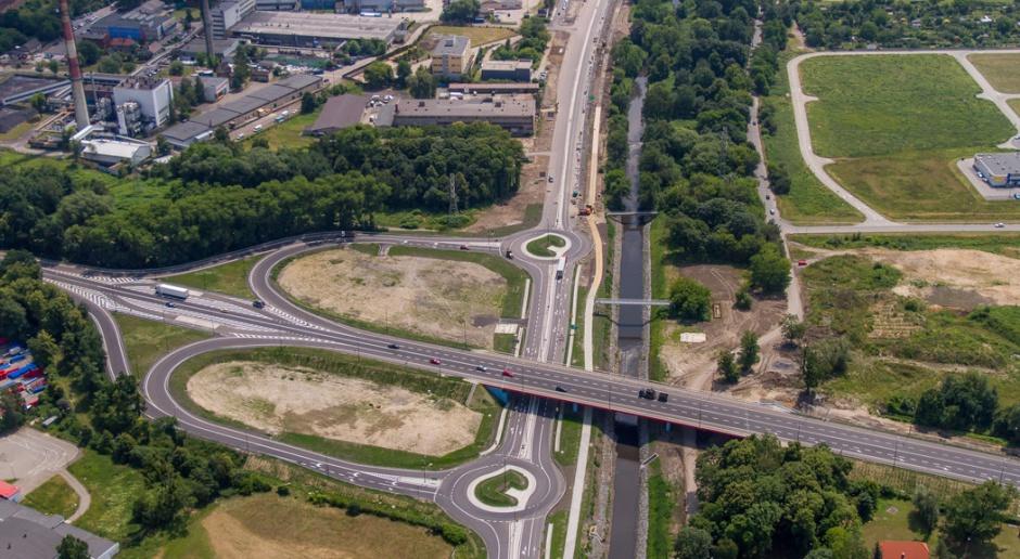 Budowa odcinka DTŚ w Gliwicach zaawansowana w 70 proc.