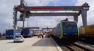 Większy terminal kontenerowy PKP Cargo w Poznaniu