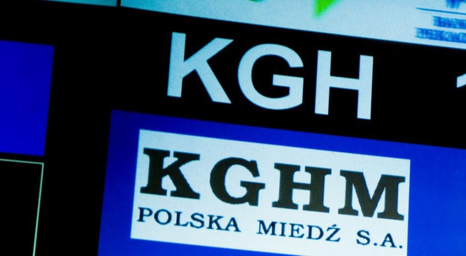 Akcje KGHM najtańsze od 5 lat