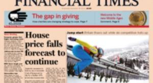 """""""Financial Times"""" sprzedany Japończykom z grupy Nikkei"""