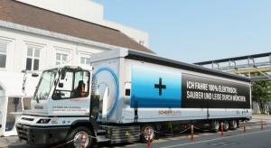 e-ciężarówki na usługach BMW