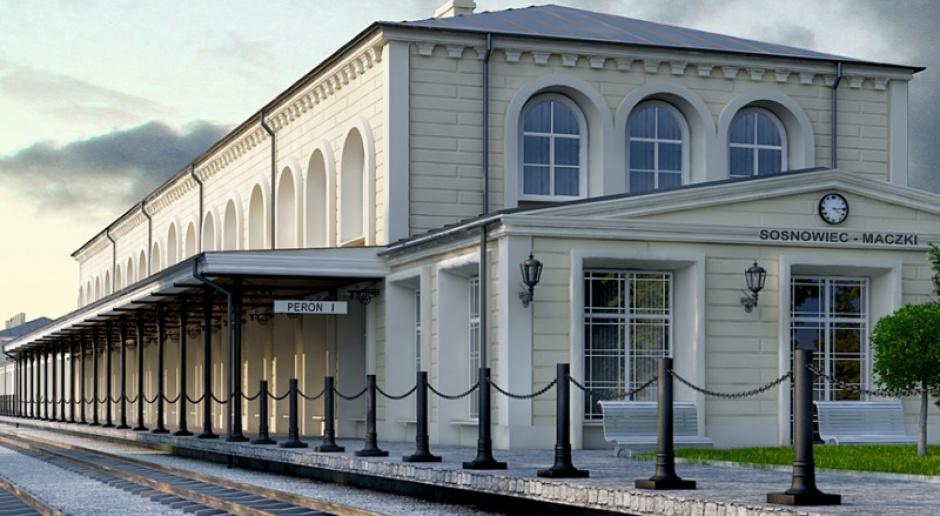 PKP unieważniły przetarg na dworzec w Sosnowcu