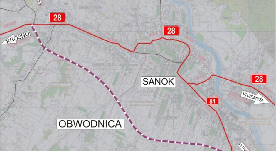 GDDKiA: oferty na obwodnicę Sanoka od 140 do 230 mln zł