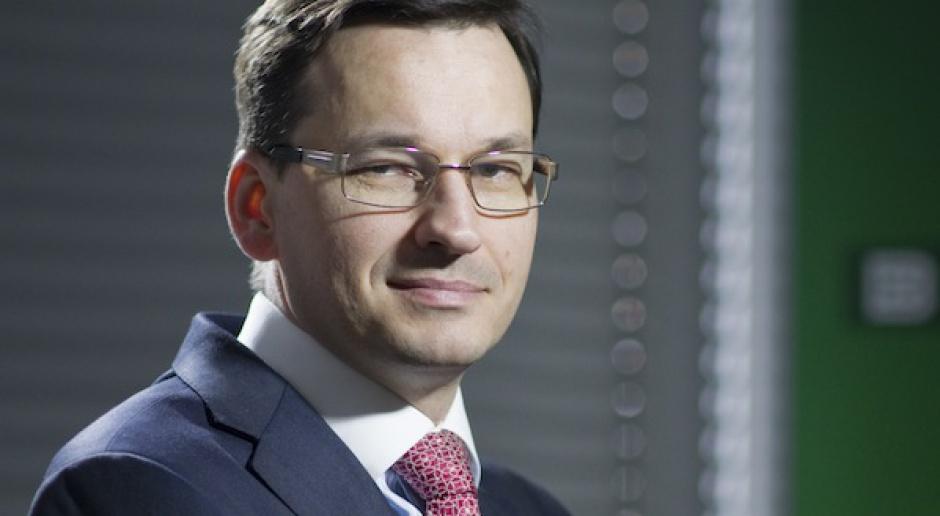 Mateusz Morawiecki sternikiem gospodarki
