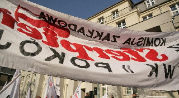 """Demonstracja Sierpnia 80 w rocznicę tragedii w """"Halembie"""""""