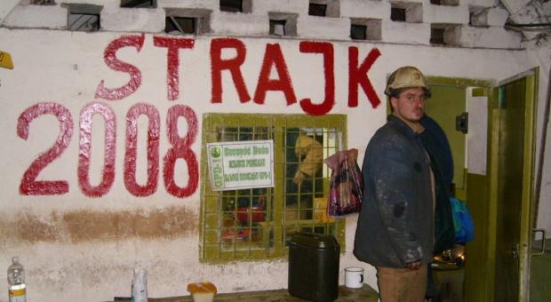 """Strajk górników w """"Budryku"""""""
