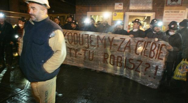 Związkowcy nadal protestują w Budryku