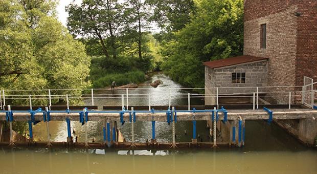 Mała elektrownia wodna w Siewierzu