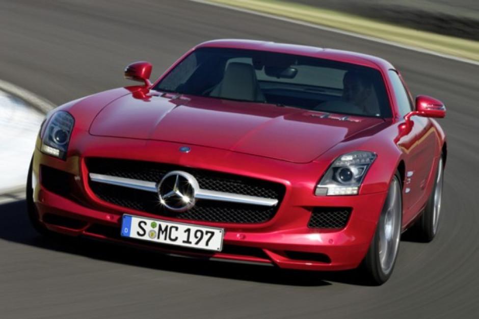 Mercedes-Benz SLS AMG, czyli