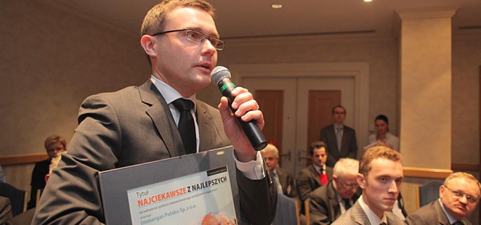 Maciej Czop - dyrektor administracji i finansów, Immergas Polska Sp. z o.o.