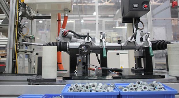 Nexteer Automotive - zdjęcia z produkcji układów kierowniczych w Tychach