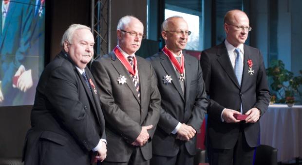 Prezydent uhonorował współtwórców polskiego rynku kapitałowego