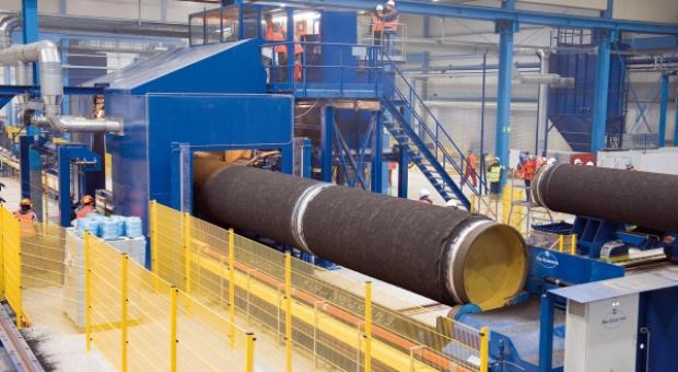 Fotogaleria z budowy Gazociągu Północnego