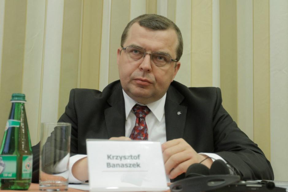 Krzysztof Banaszek - prezes Polskiej Agencji Żeglugi Powietrznej
