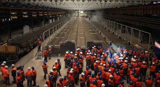 ArcelorMittal Poland: otwarcie instalacji do produkcji długiej szyny