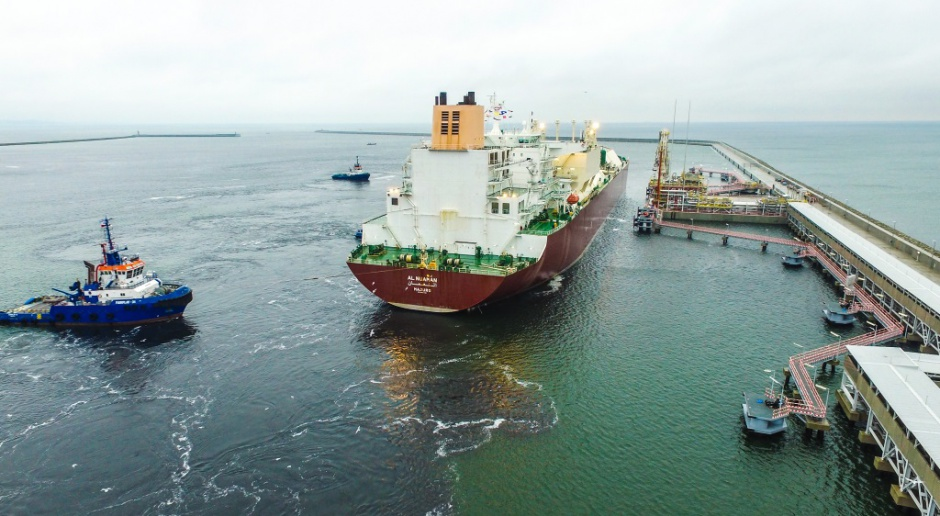 Gaz-System chce wozić LNG po Bałtyku
