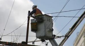 Kłopoty z dostawami prądu po silnym wietrze