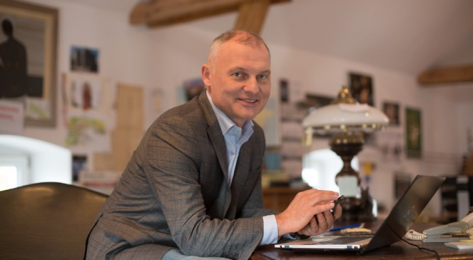 Bartosz Świderek, wiceprezes spółki Pol-Inowex Fot. Pol-Inowex