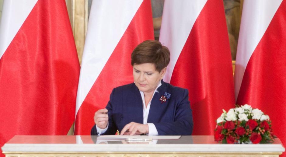 Premier Beata Szydło: wszystkie projekty z kampanii wyborczej zostały rozpoczęte