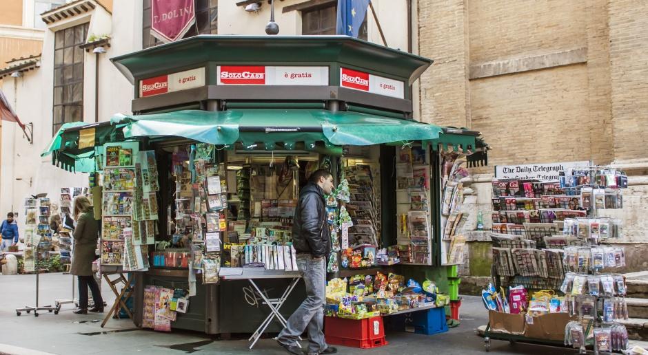 Wskutek strajku drukarzy nie ukazała się większość włoskich dzienników