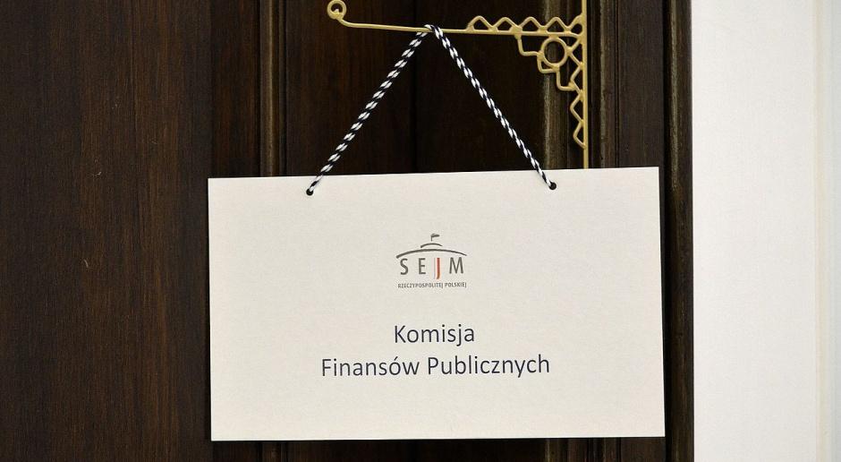 Komisja finansów za zmniejszeniem kar dla inwestorów