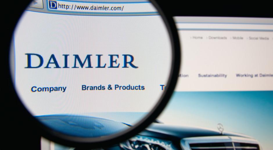 Daimler musi wycofać 238 tys. pojazdów z silnikiem Diesla