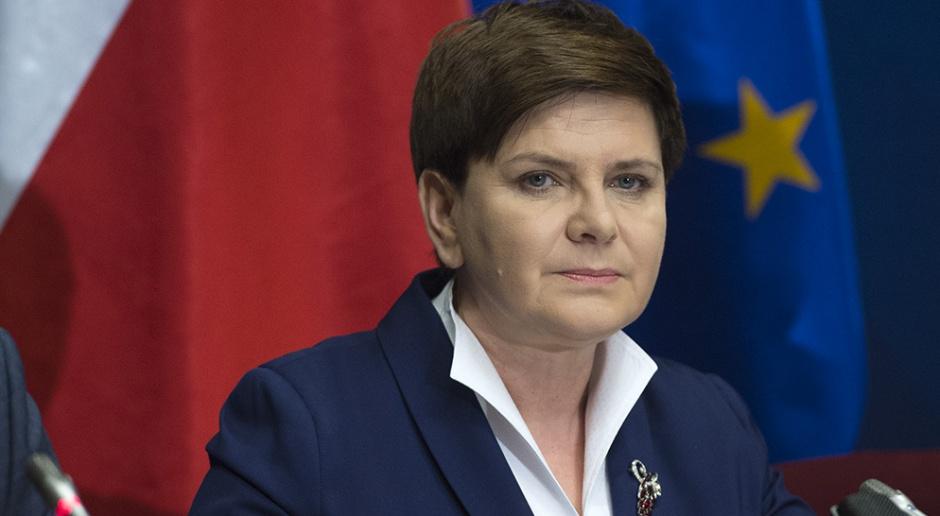 Beata Szydło na podpisaniu umowy ws. powstania Polskiej Grupy Górniczej