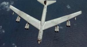 Amerykański bombowiec rozbił się w bazie wojskowej