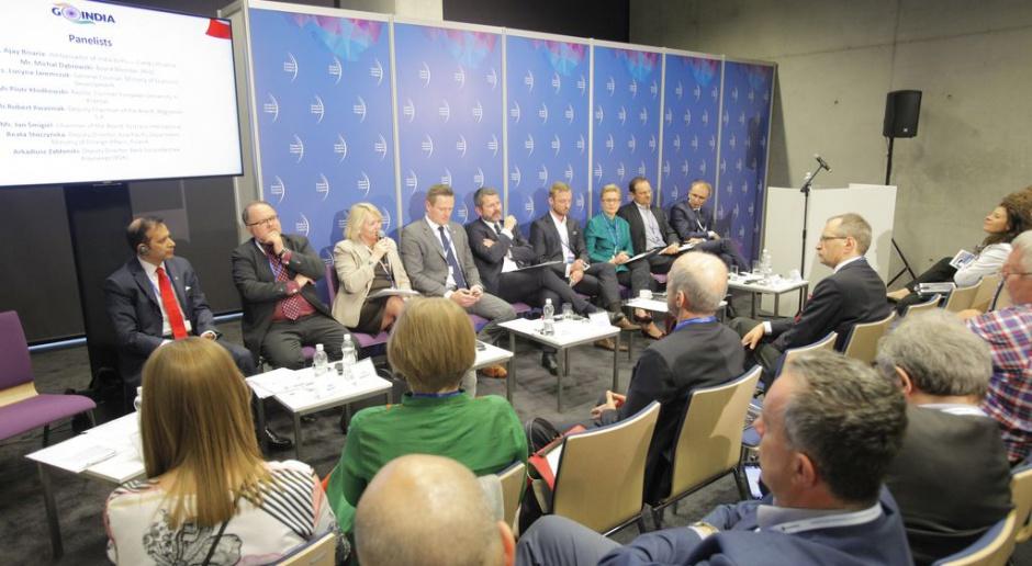 W trakcie Europejskiego Kongresu Gospodarczego odbyło się Spotkanie gospodarcze Indie - Europa Centralna.