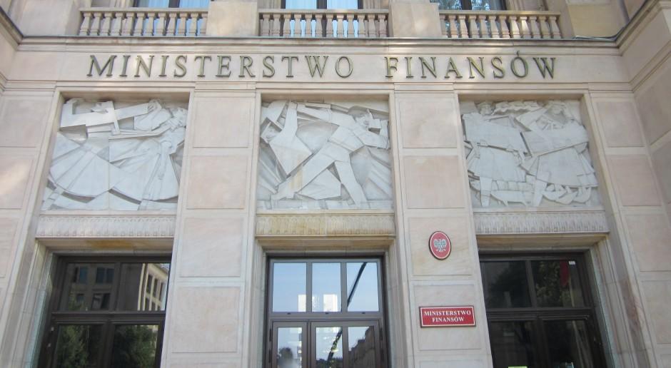 Ministerstwo Finansów za zniesieniem barier dotyczących emisji niektórych instrumentów