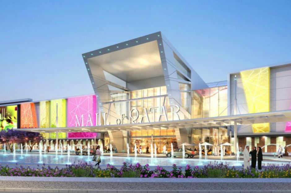 Fot. mat. pras. Mall of Quatar