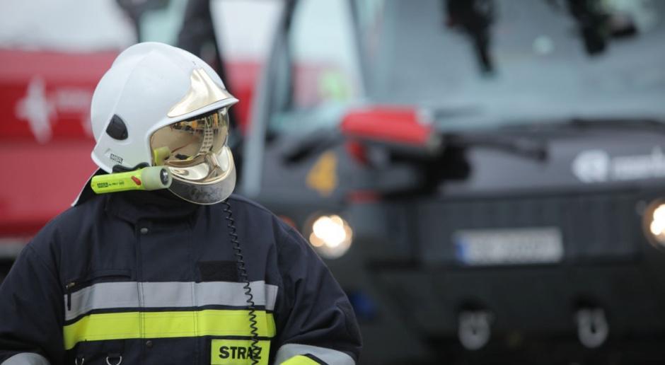 Pożar fabryki opakowań w Poznaniu