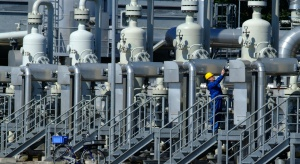 Coraz mniej gazu w europejskich magazynach surowca