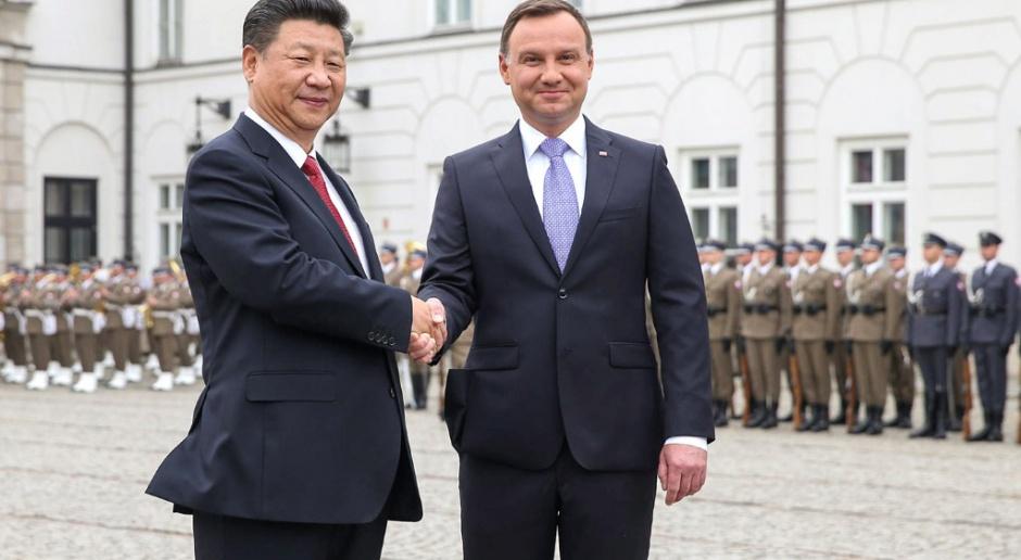 Prezydent: mam nadzieję, że Polska stanie się dla Chin bramą do Europy