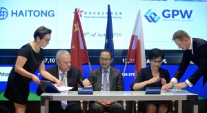 GPW będzie współpracować z Haitong Bank