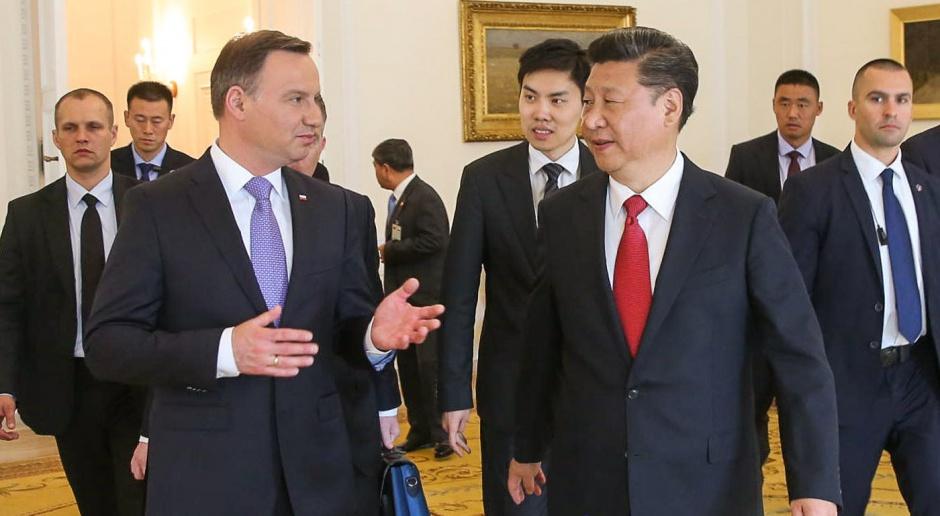 Prezydenci Polski i Chin podpisali oświadczenie o strategicznym partnerstwie