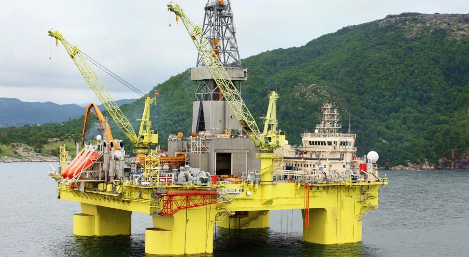 Spadło wydobycie ropy i gazu w Norwegii