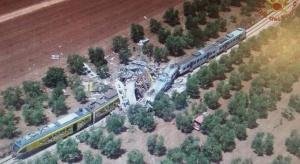 Tragiczny bilans katastrofy kolejowej na południu Włoch