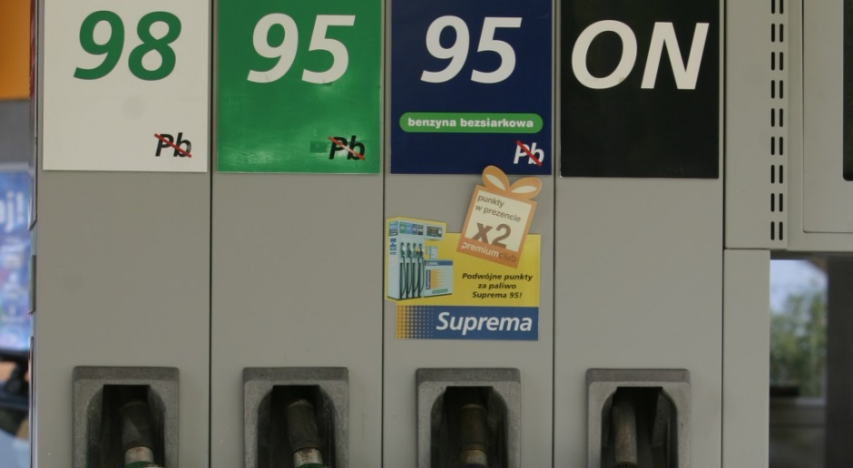 Załamanie wzrostowego trendu cen paliw