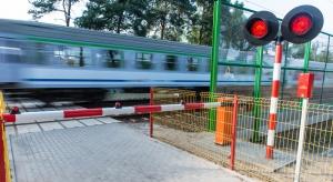 Coraz mniej wypadków na polskiej kolei