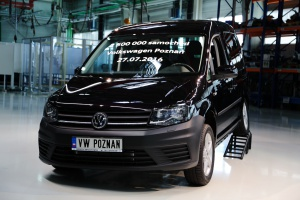 Niedługo pierwszy Volkswagen Caddy 5 wyjedzie z poznańśkiego zakładu