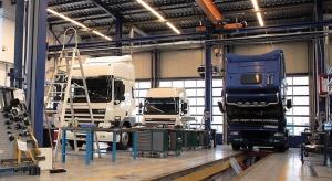 Unijny rynek ciężarówek stale nad kreską