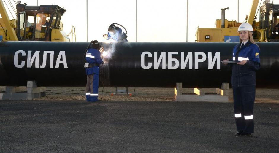 Siła Syberii już tłoczy rosyjski gaz do Chin