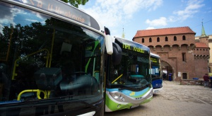 50 autobusów elektrycznych dostarczonych do Krakowa