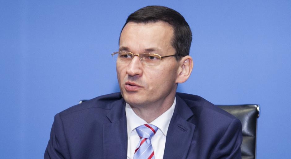 Morawiecki: rząd przyjmie Strategię w październiku lub na początku listopada
