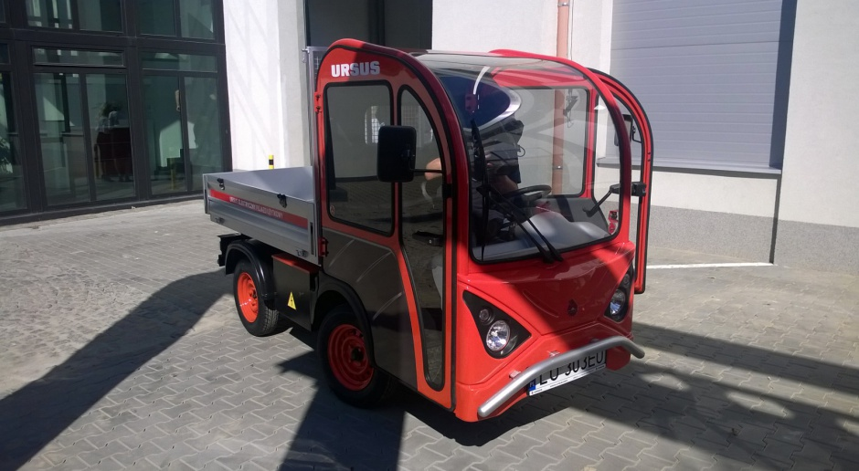 Ursus zamierza odbudować polską motoryzację za pomocą aut elektrycznych