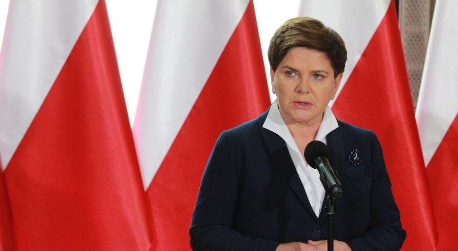 """""""Dobry rok"""" premier Beaty Szydło"""