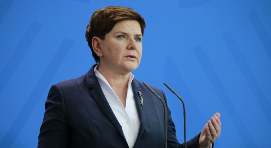 Szydło: nie przystąpimy do CETA bez odpowiednich gwarancji