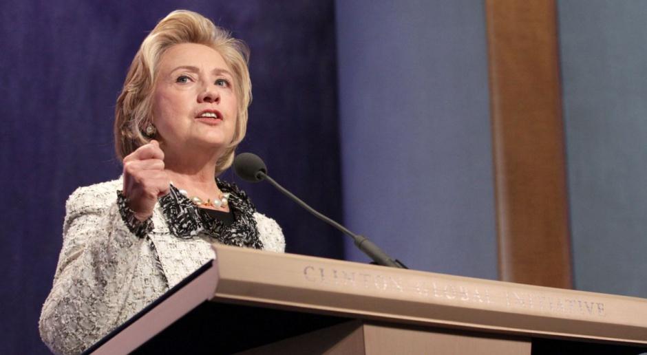Clinton obiecuje twardy kurs wobec Wall Street